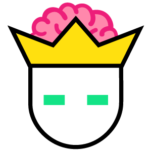Brain King Logo